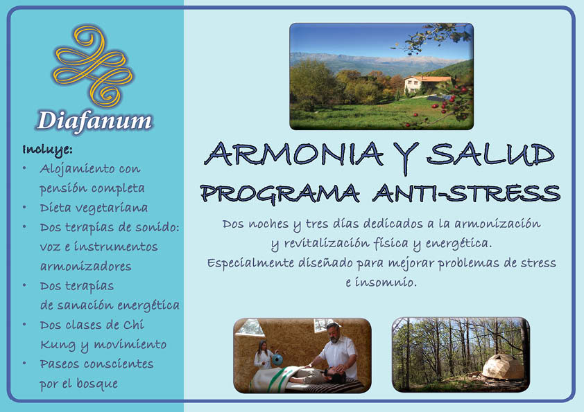 Armonia y salud. Terapia Anti stress