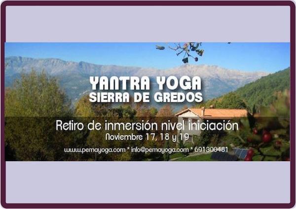 yantra yoga sierra gredos 2