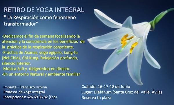 Retiro Yoga 16 17 18 Junio Diafanum