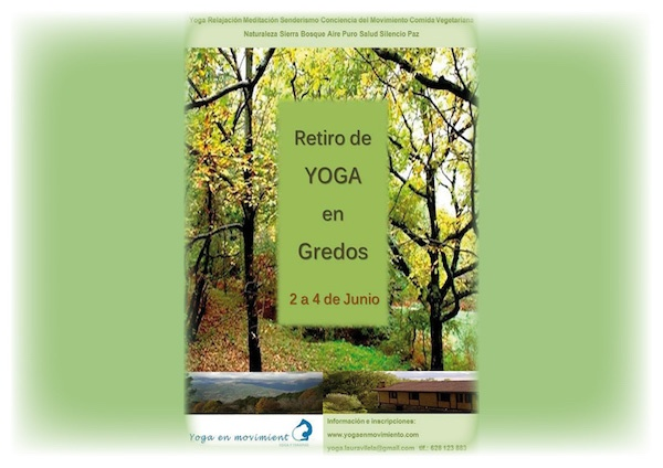 retiro yoga gredos