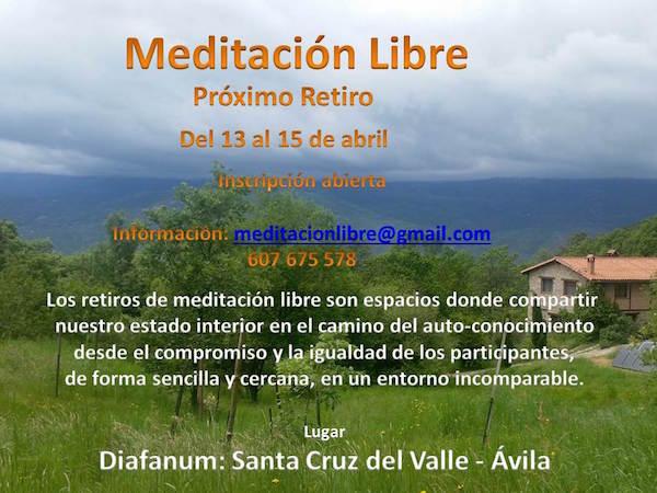 meditacion libre abril