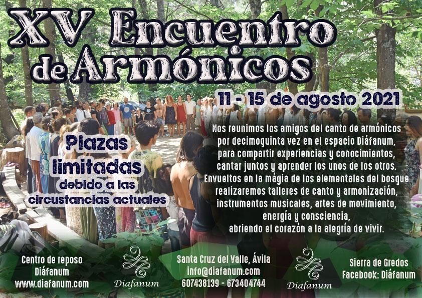 XV encuentro de Armonicos